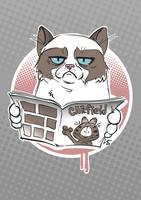 Grumpy Cat by berov