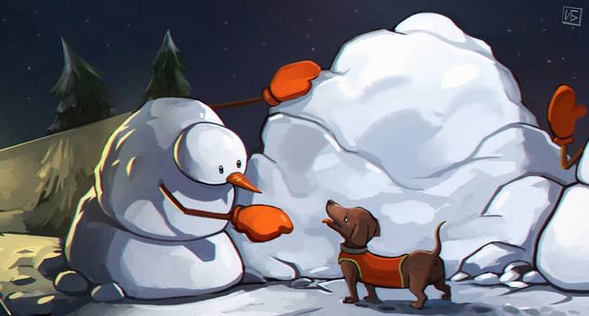 Christmas Tale Detail by berov