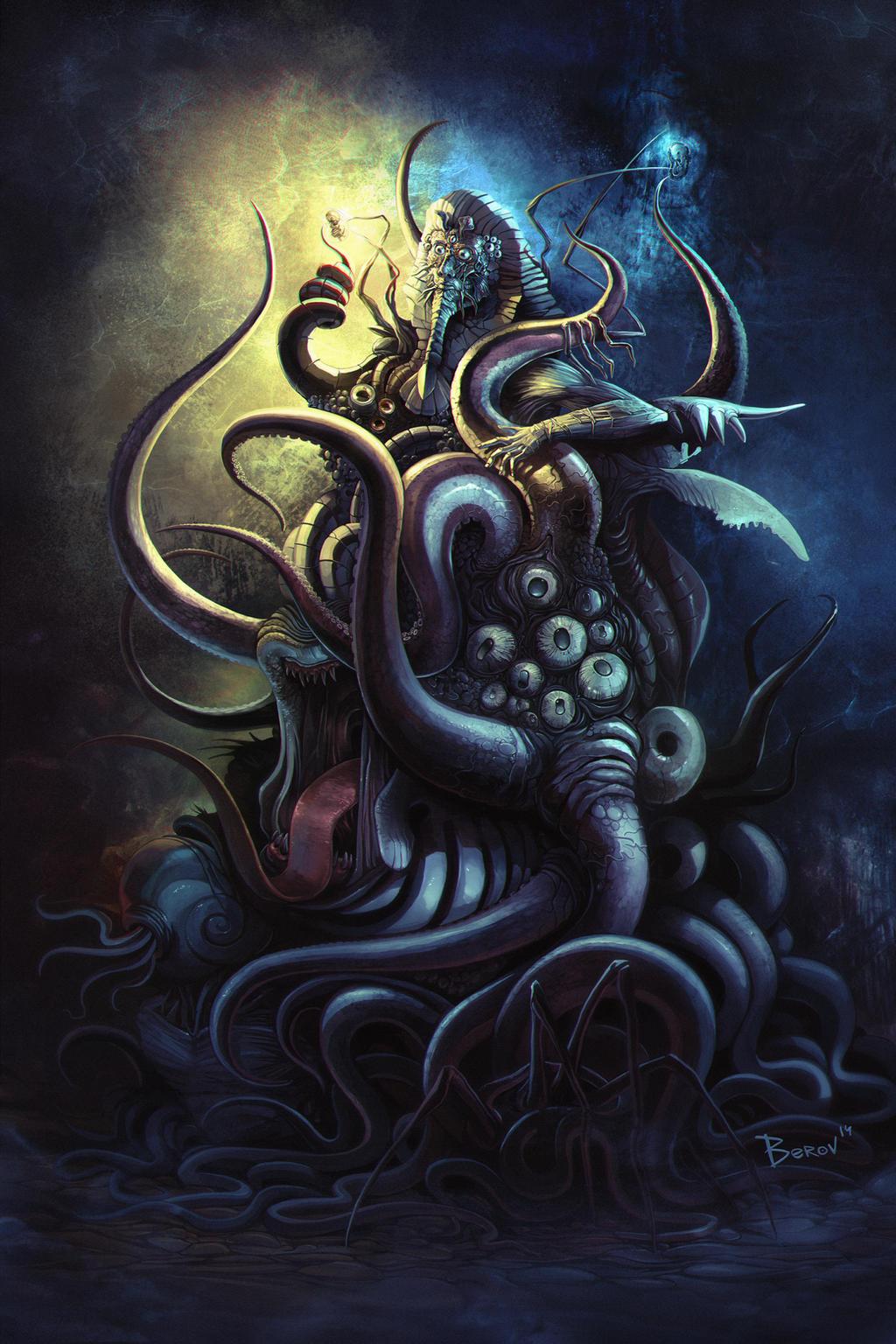 Shub Niggurath Goat Nyarlathotep by berov ...