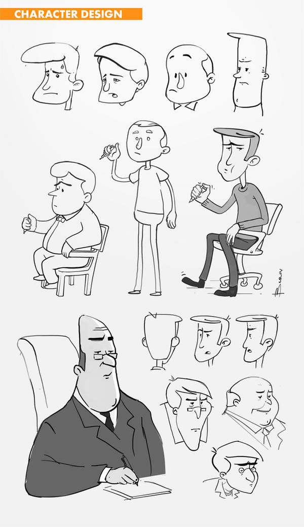 24ins Animation : Character Design by berov
