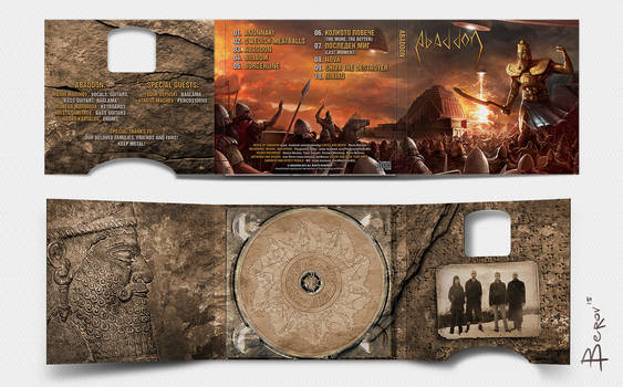 Abaddon - Album cover by berov