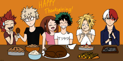 HAPPY (very late) THANKSGIVING! by OwTheEdgy