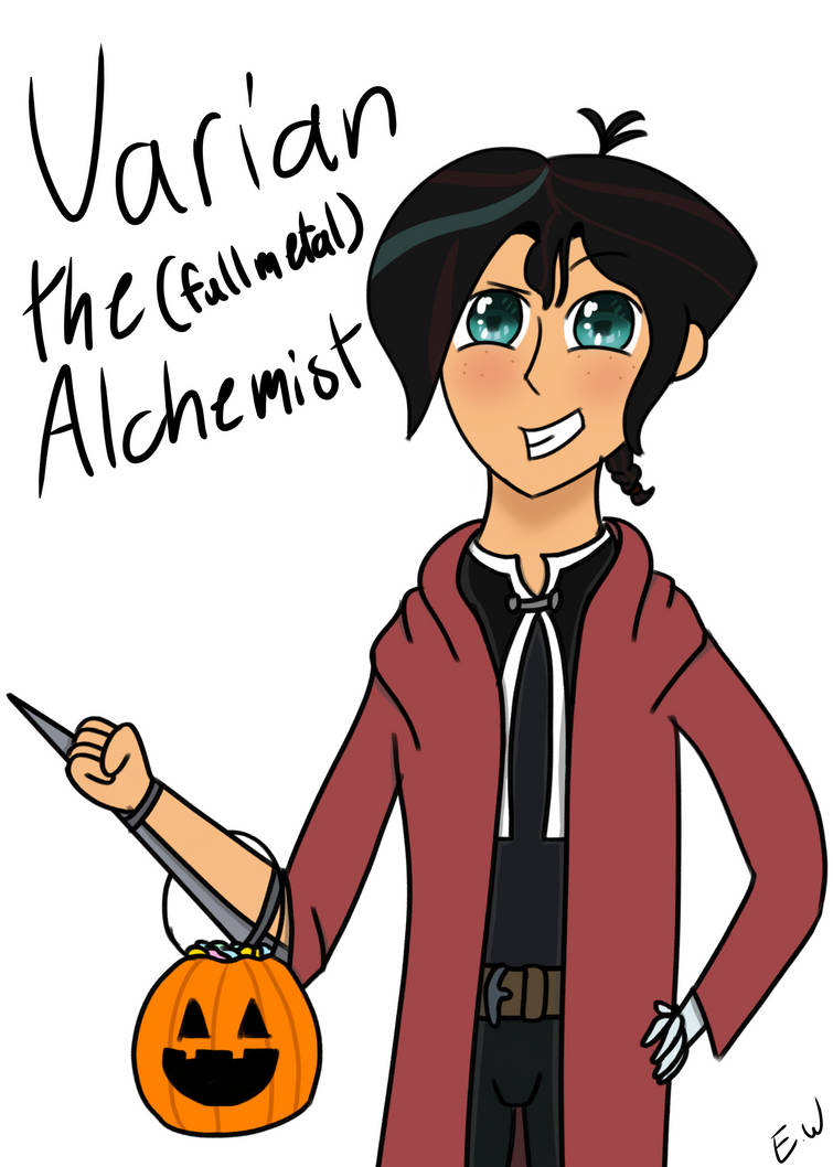 Varian Halloween Contest Entry by OwTheEdgy