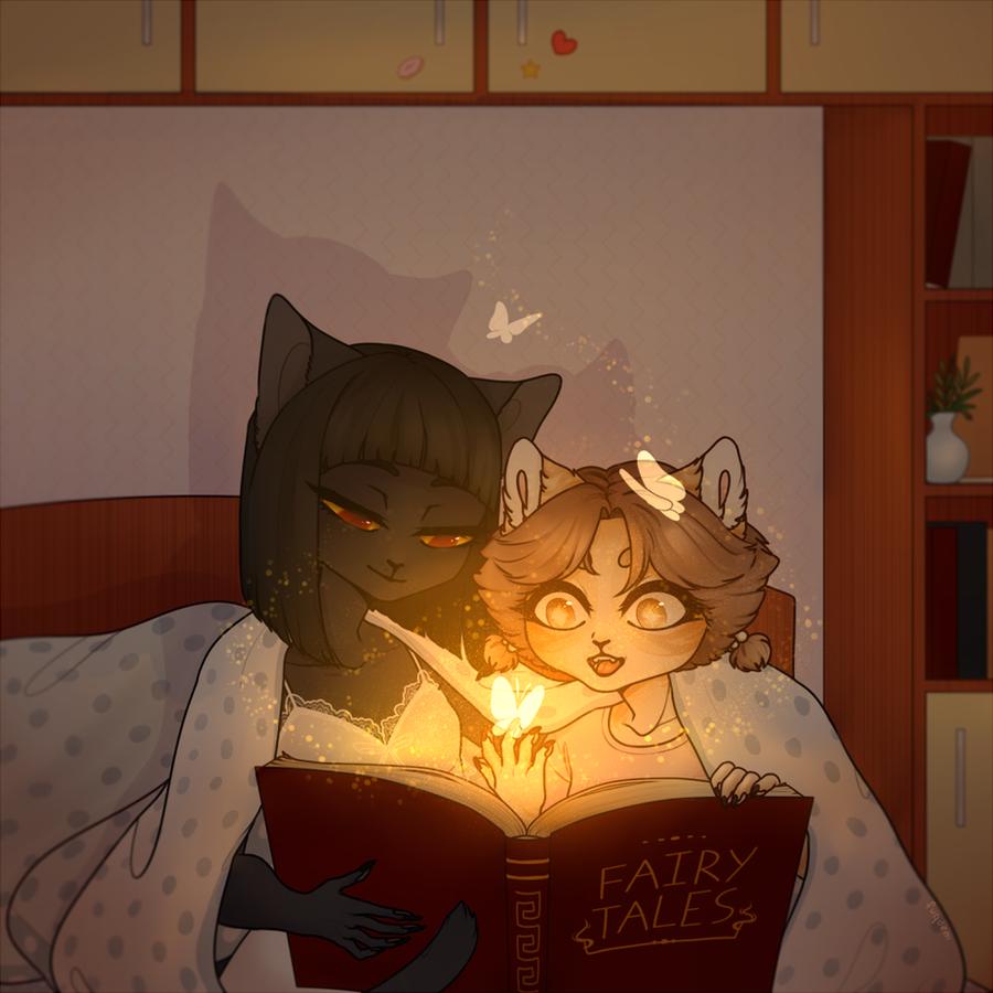 Ayasha and Yanzhu by fuqdem