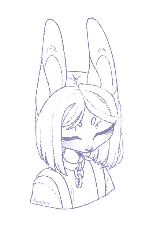 rabbit by fuqdem
