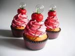 Strawberry Faux Cupcake - 01
