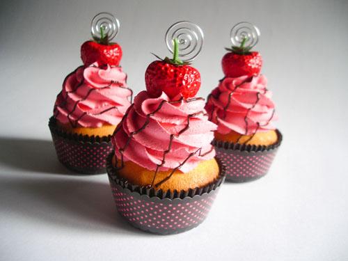 Gothic Strawberry Cake