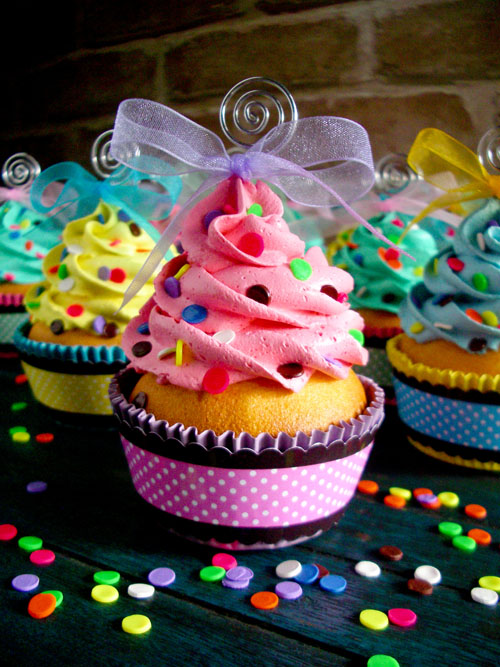Confetti Faux Cupcakes 02 by CreativeAbubot on DeviantArt