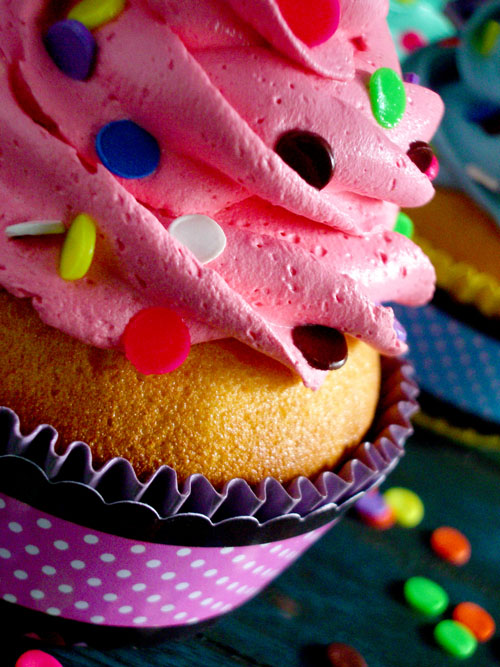 Confetti Faux Cupcakes 04 by CreativeAbubot