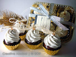 Mini Cupcake Ornaments 04 by CreativeAbubot