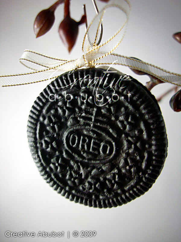 Faux Oreo Cookie Ornaments By Creativeabubot On Deviantart