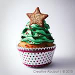 Xmas Tree Faux Cupcake 03
