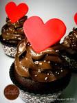 Choco Lover Faux Cupcake