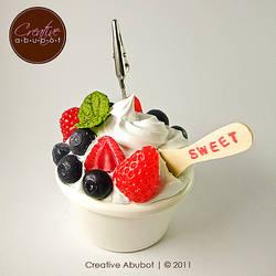 Fake Frozen Yogurt by CreativeAbubot