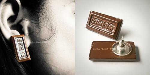 Hershey's Earring by CreativeAbubot