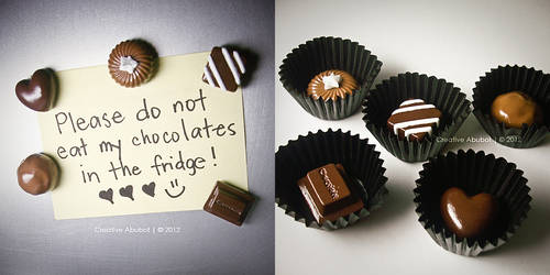 Chocolate Magnets by CreativeAbubot