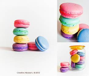 Fake French Macarons Display by CreativeAbubot