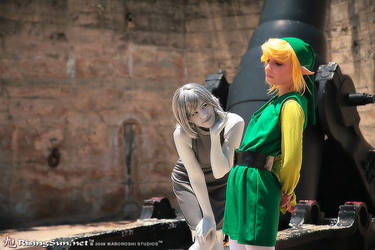 Great Fairy Queen and Link