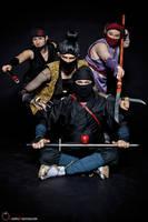 Mini Ninjas Group by silvver