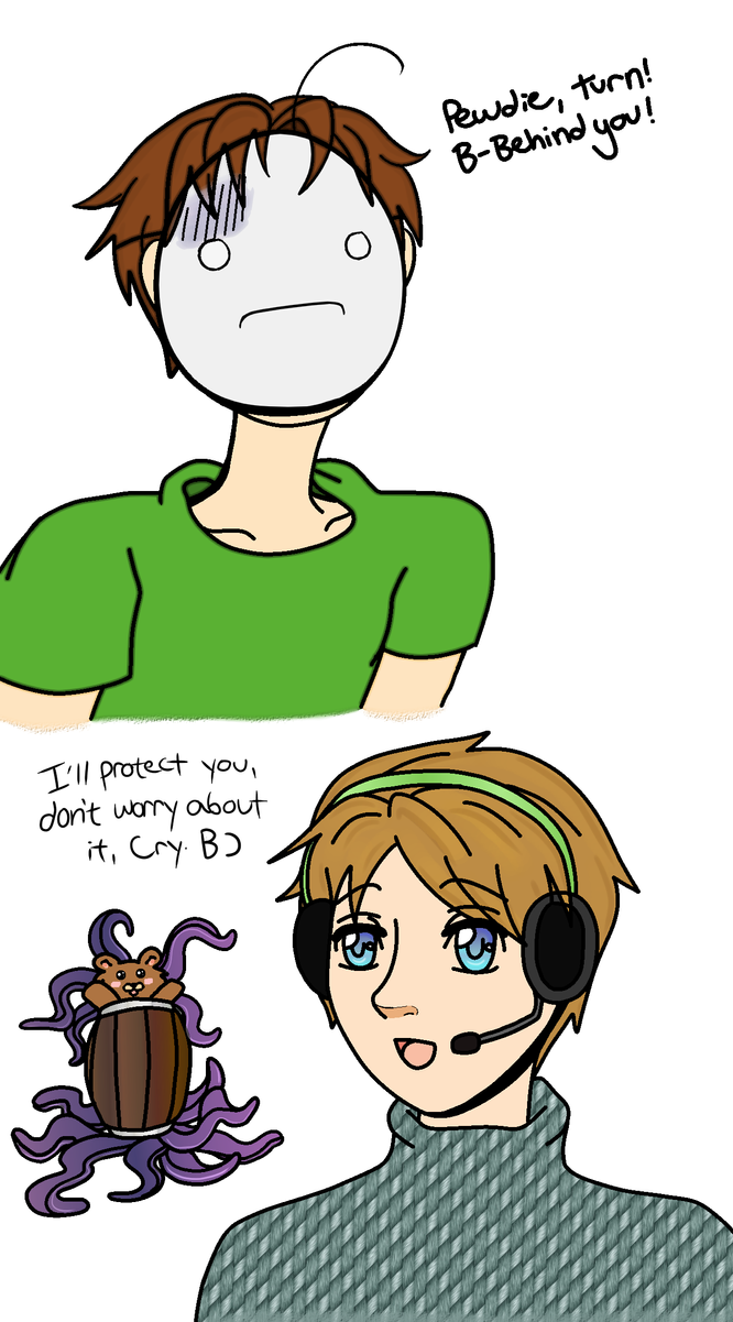 Pewdiepie Cry and Pedo Bear-pus by korymisun on DeviantArt