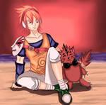 MEKO AND URIME by yashi-lin