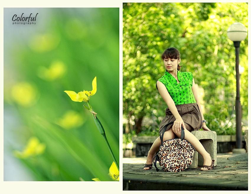 Yellow and Greening My Life by betazanialamirin