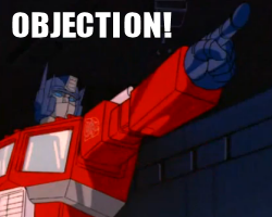 Transformers: Objection PLZ -code in description- by Hiddenryu