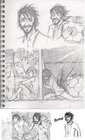 Portal 2 doodles RATMAAAAAANNN by Nintendochu