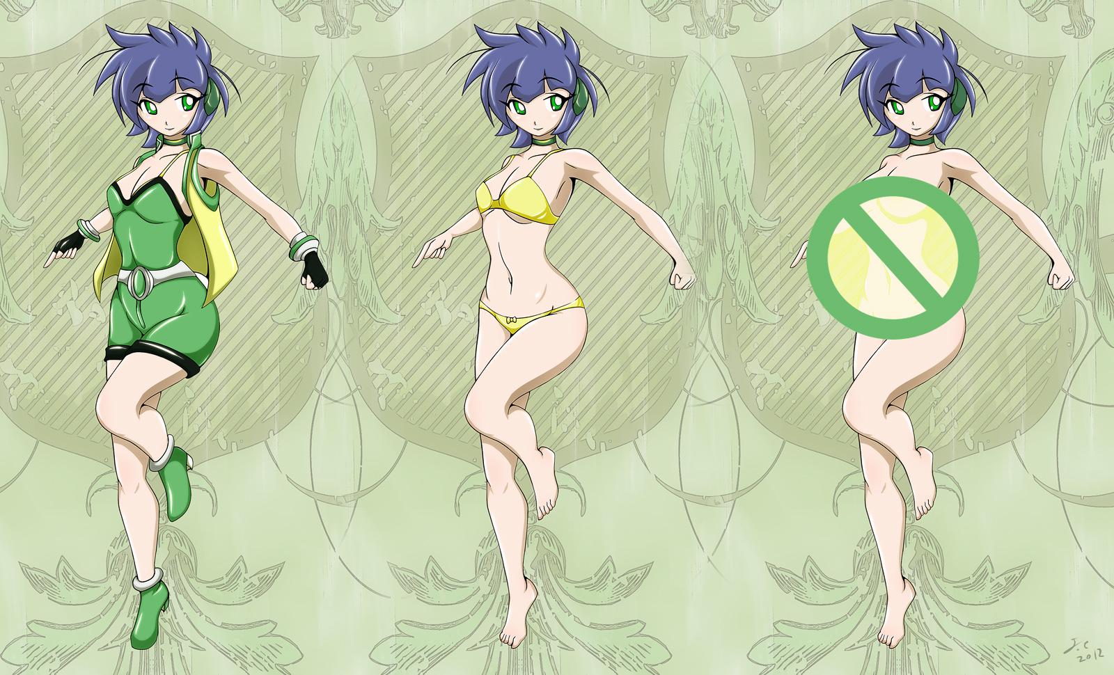 Kaoru x 3 by JessicaElwood