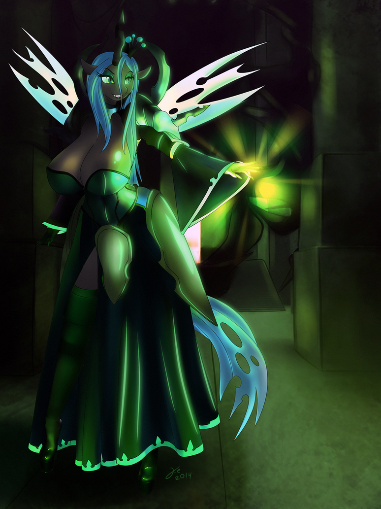 Queen Chrysalis by JessicaElwood