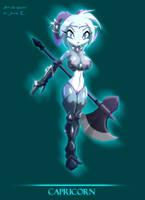 Zodiac Maiden Capricorn by MatyMatyPup