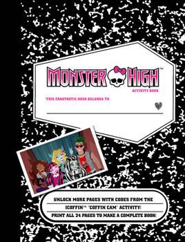Monster High Notebook