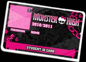 Monster High ID Card