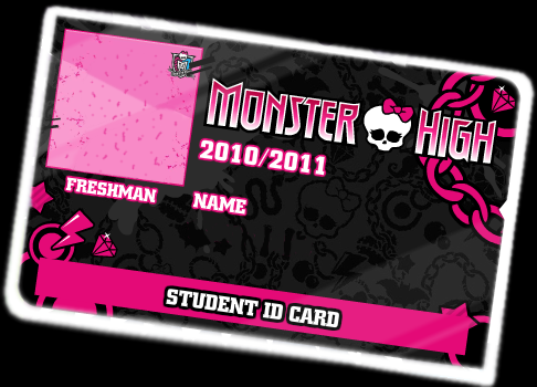 Monster High ID Card by XxXPixelPerfectXxX