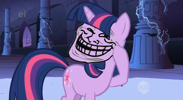 Twilightsparkle TROLL by jwhitloctombraider