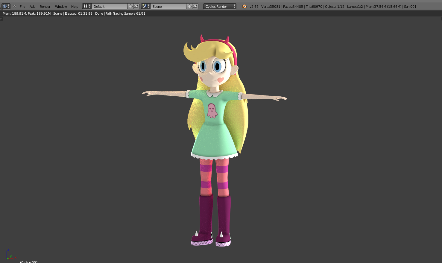 WIP] Star Butterfly by Sindroom on DeviantArt