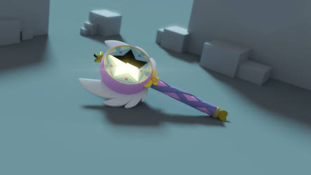 [Blender] Magic Wand by Sindroom