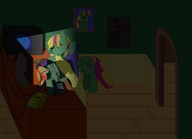 Late Gaming by Tassadoul