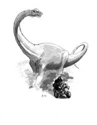 Sauropod Race by Wolflaz