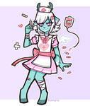 Lovely nurse by Puffyrin