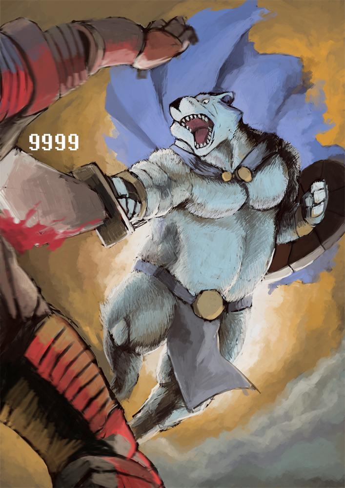 Bear Strike by Godji