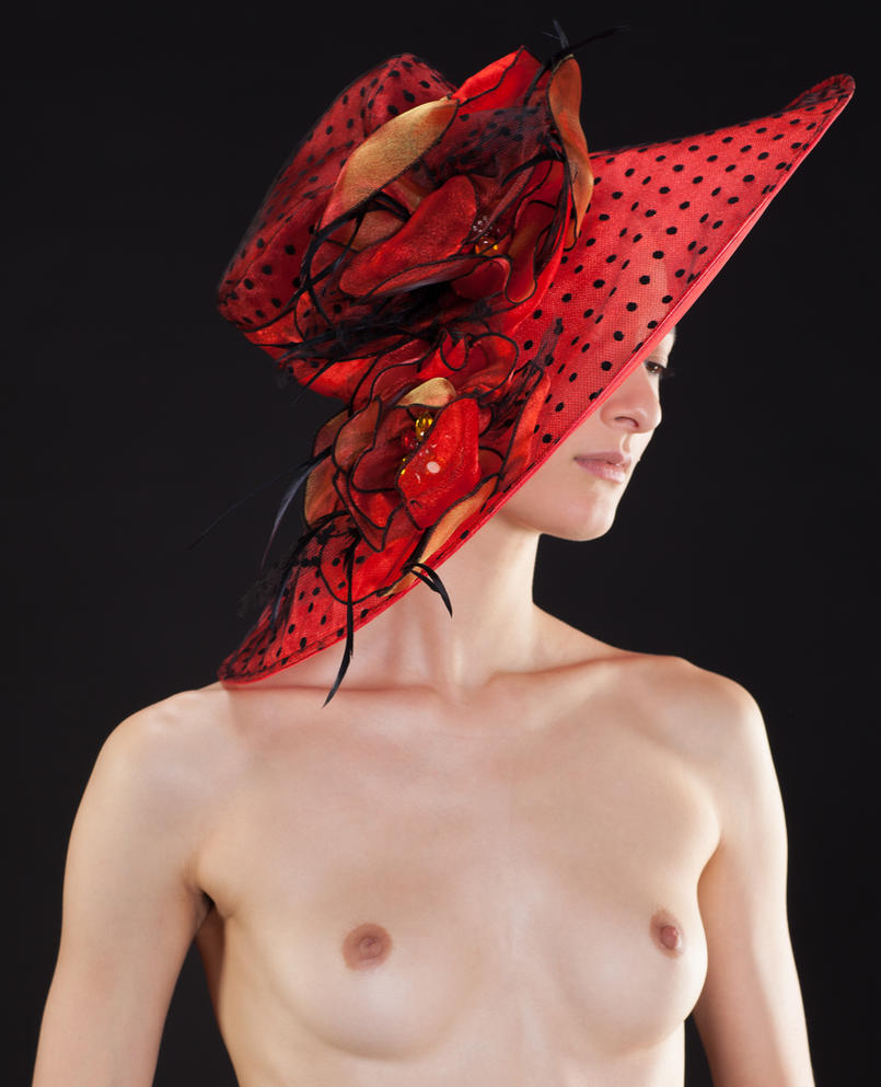 Diaphanous Love's Red Hat by huitphotography
