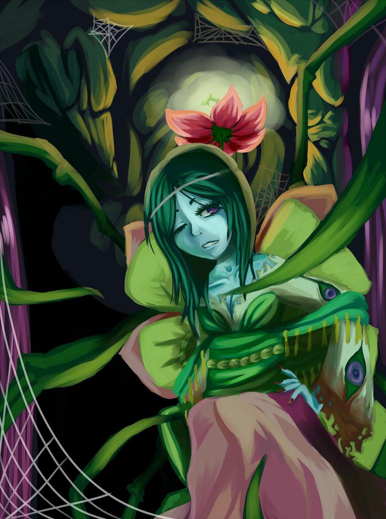 Spider queen okami