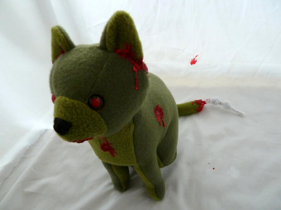 Zombie Cat by IckyDog