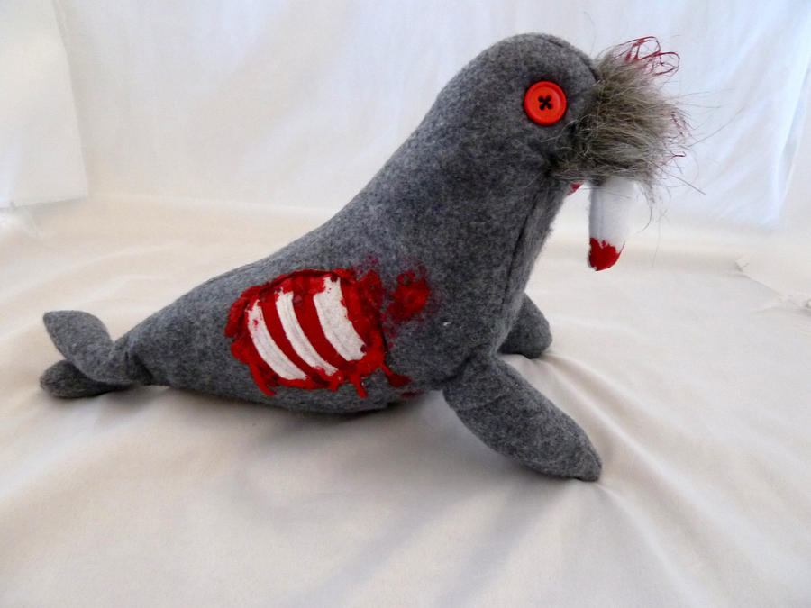 Zombie Walrus 2 by IckyDog