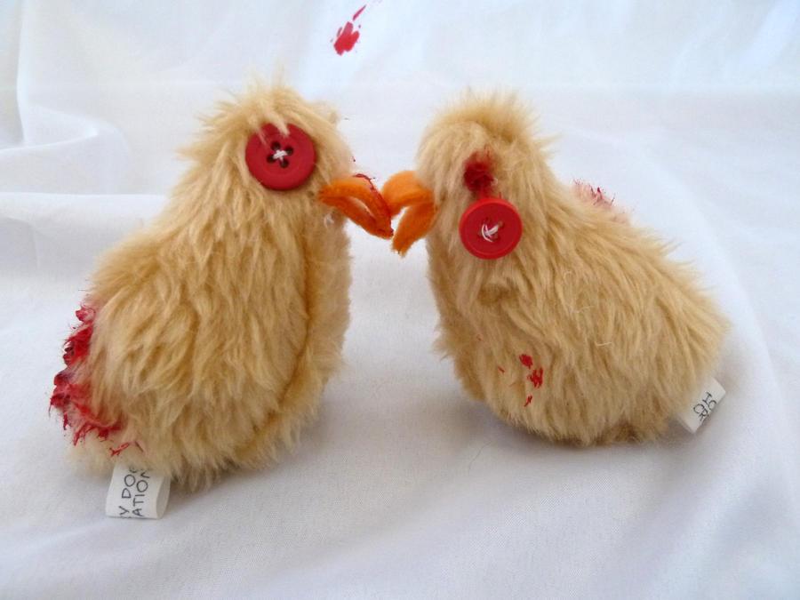 Zombie Chicks by IckyDog