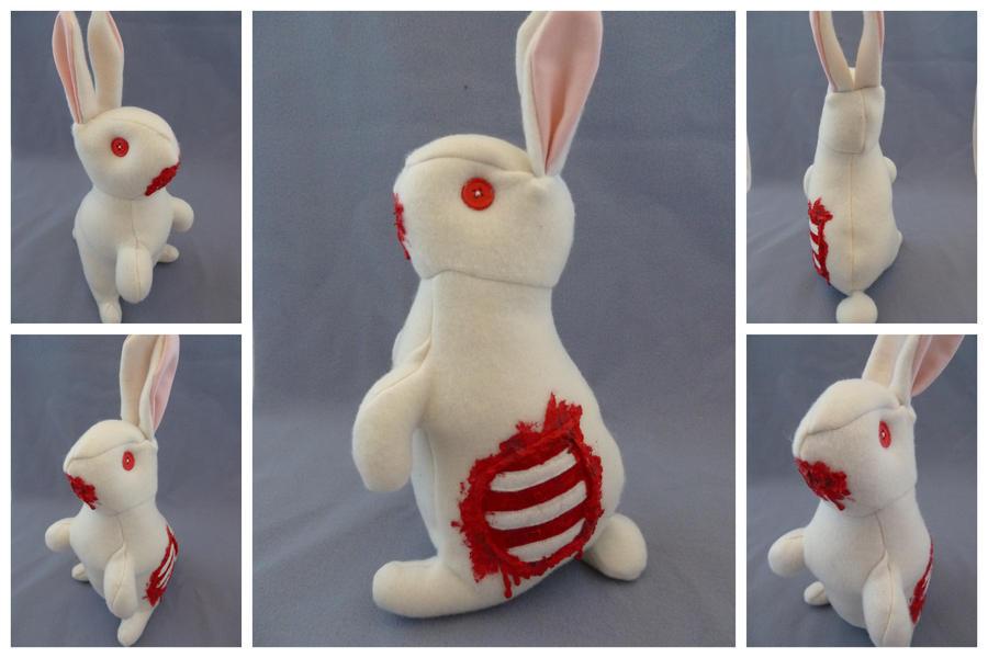 Raffle Zombie Bunny by IckyDog