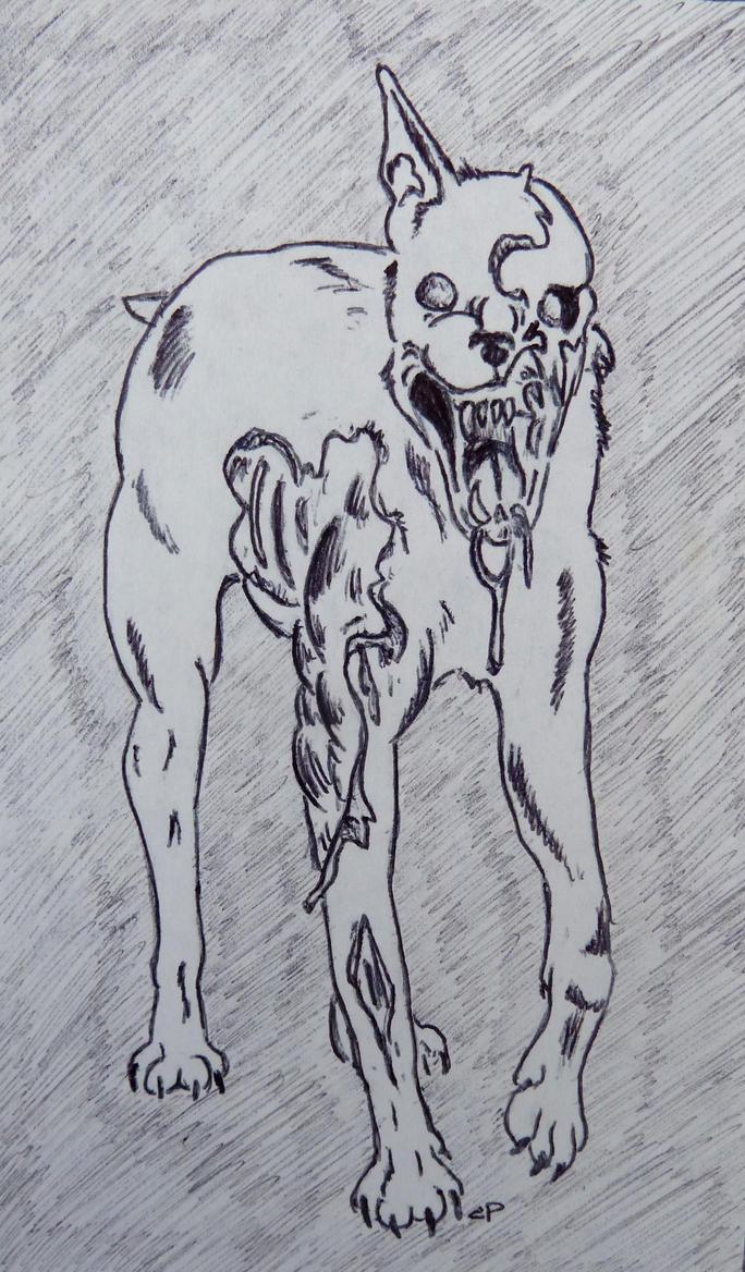 Zombie Dog by IckyDog on DeviantArt