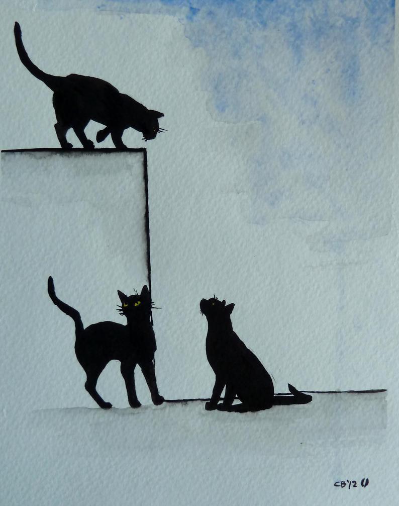 Kitties! by IckyDog