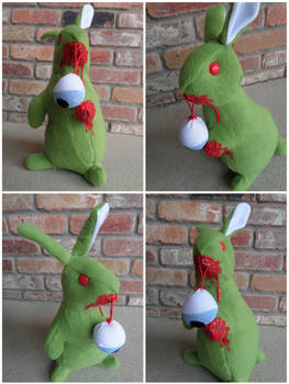 Alfonso the Zombie Bunny